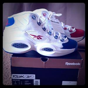 Reebok Question Mid Basketball Sneakers
